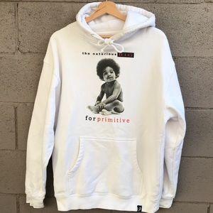 Men's Notorious BIG hoodie w/pockets